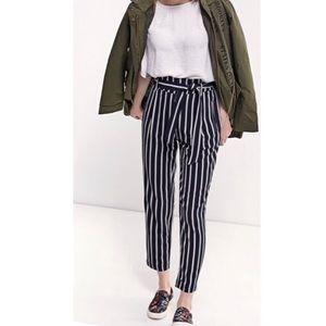 Pants - Stripe side pocket pants